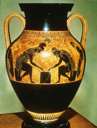 Achilles And Ajax At Draughts